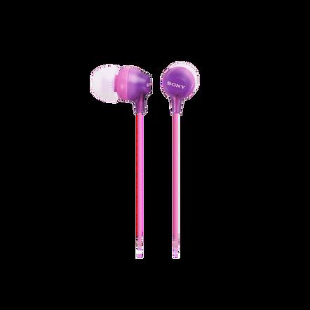 In-Ear Lightweight Headphones with Smartphone Control (Violet), , hi-res