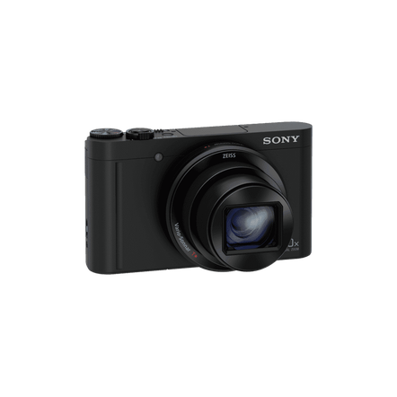 WX500 Digital Compact Camera with 30x Optical Zoom (Black), , hi-res