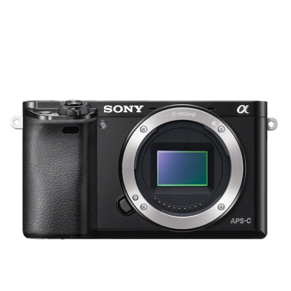 Alpha 6000 Digital E-Mount Camera (Black) with 16-50mm Len, , product-image