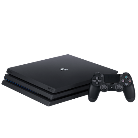 PlayStation4 Pro 1TB Console (Black)