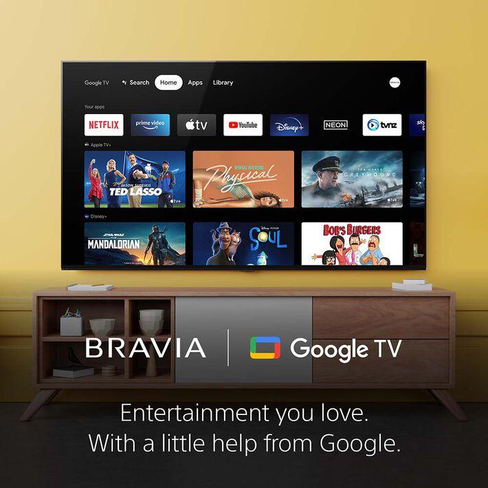 "85"" X95J   BRAVIA XR   Full Array LED   4K Ultra HD   High Dynamic Range   Smart TV (Google TV), , product-image"
