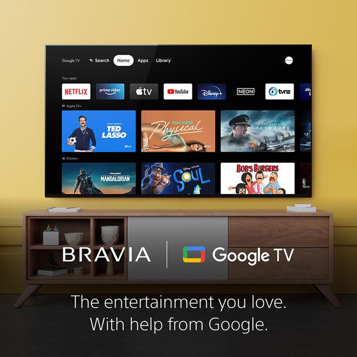 "85"" X85J   4K Ultra HD   High Dynamic Range (HDR)   Smart TV (Google TV), , product-image"
