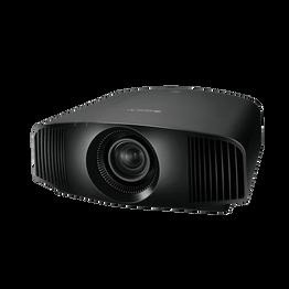 4K SXRD HDR Home Cinema Projector with 1,500 lumen brightness (Black)